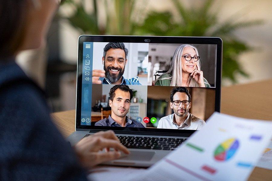 Business Zoom Meeting